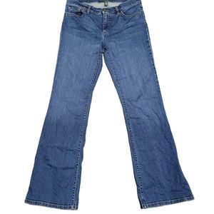 Lauren Ralph Lauren classic Bootcut  Jeans Sz 8